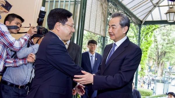Ðón tiếp Phó Thủ tướng Chính phủ, Phó Chủ tịch Quốc hội, Bộ trưởng Bộ Ngoại giao