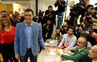 Đảng PSOE chiến thắng trong cuộc bầu cử trước thời hạn ở Tây Ban Nha