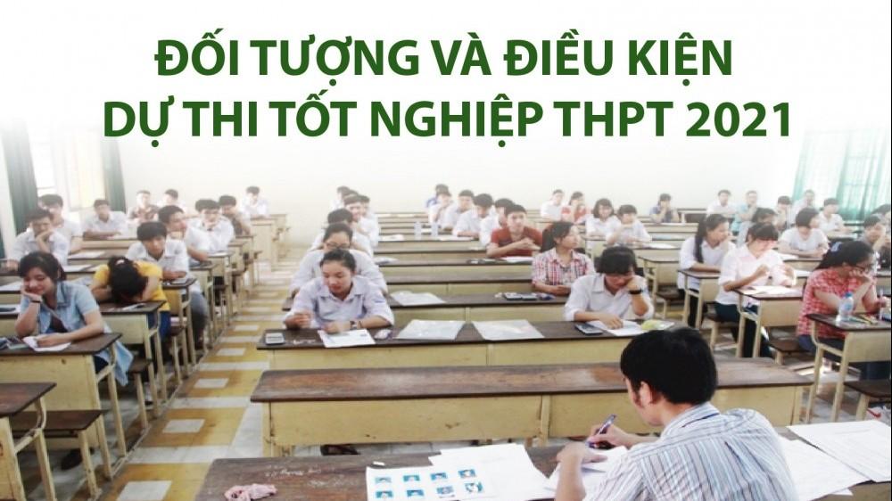 Một số lưu ý về đối tượng và điều kiện dự thi tốt nghiệp THPT 2021