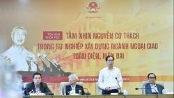 Tọa đàm Tầm nhìn Nguyễn Cơ Thạch trong sự nghiệp xây dựng ngành ngoại giao toàn diện, hiện đại