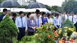 Lễ dâng hương tưởng niệm cố Phó Thủ tướng, Bộ trưởng Ngoại giao Nguyễn Cơ Thạch