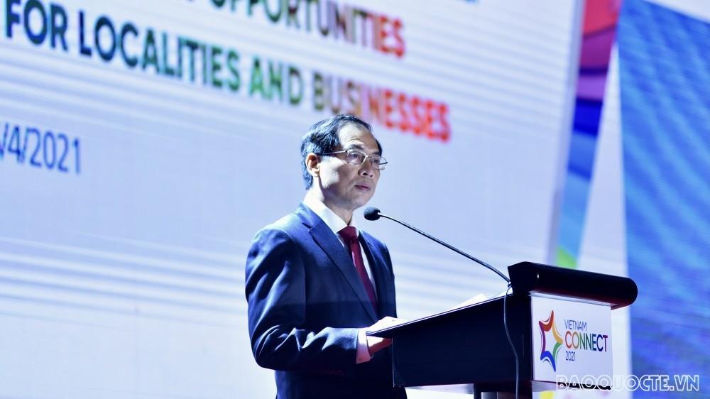 Bộ trưởng Bộ Ngoại giao Bùi Thanh Sơn: Thu hút FDI phải đổi mới mạnh mẽ sang tư duy chủ động