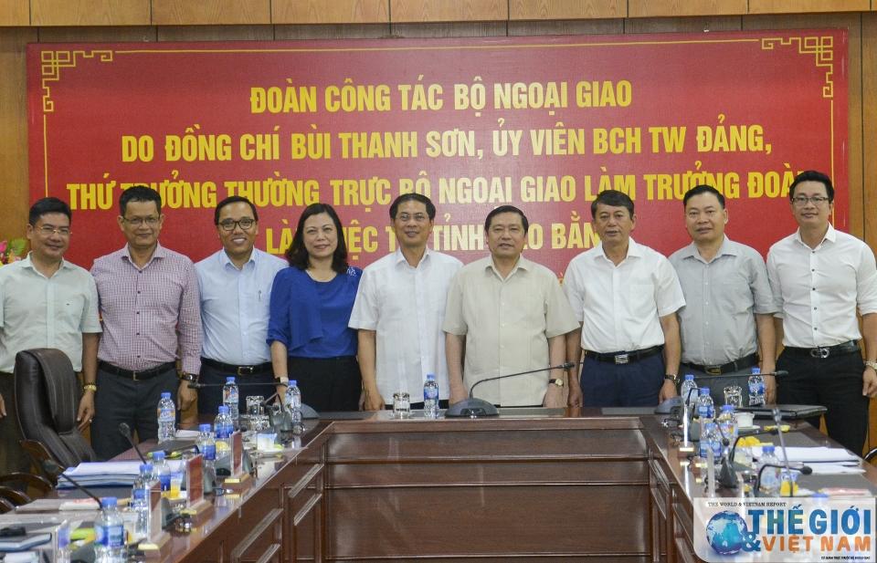 Tỉnh Cao Bằng mong muốn nâng cao vị thế, thu hút đầu tư nước ngoài