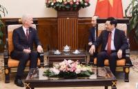 Phó Thủ tướng Phạm Bình Minh tiếp Đại sứ Thụy Sỹ Ivo Sieber