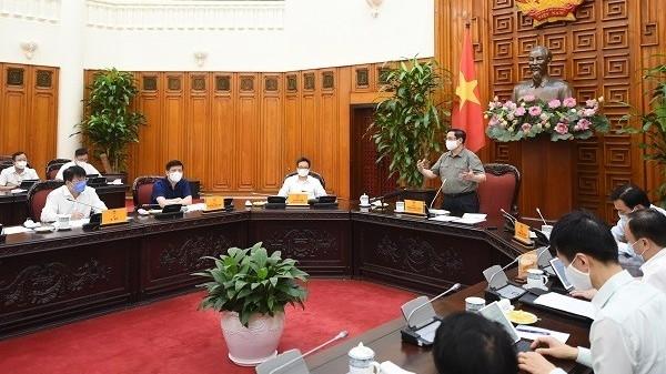 Covid-19: Thủ tướng nhắc nhở, chấn chỉnh nghiêm khắc các địa phương chưa làm tốt phòng chống dịch