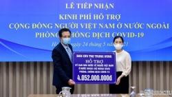 Cộng đồng người Việt Nam ở nước ngoài được hỗ trợ hơn 4 tỷ đồng để phòng, chống dịch Covid-19