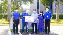 Đoàn Thanh niên Bộ Ngoại giao quyên góp gần 100 triệu đồng cho công tác phòng chống dịch Covid-19