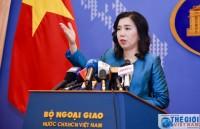 Việt Nam yêu cầu Trung Quốc rút các thiết bị quân sự trái phép trên đảo Phú Lâm