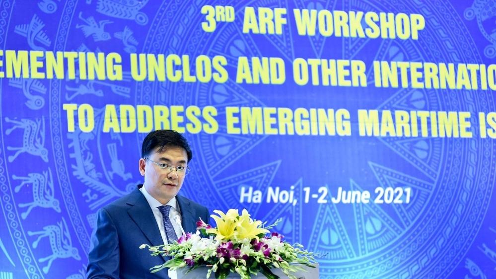 Hội thảo ARF lần ba về Công ước của Liên hợp quốc về Luật Biển 1982