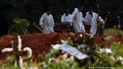 Covid-19: Brazil trở thành nước thứ 2 vượt mốc 500.000 người tử vong sau Mỹ