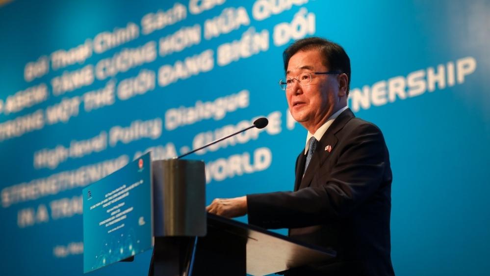 Ngoại trưởng Hàn Quốc và điểm đến đầu tiên trong chuyến công du Đông Nam Á