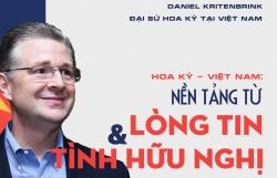 Đại sứ Hoa Kỳ tại Việt Nam Daniel Kritenbrink: Nền tảng từ lòng tin và tình hữu nghị