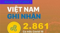 Covid-19: Những địa phương có số ca mắc mới cao nhất sáng 28/7