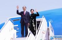 Chủ tịch nước Trần Đại Quang và Phu nhân bắt đầu thăm Ethiopia - Tin của phóng viên báo TG&VN.
