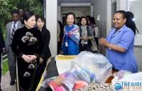 Phu nhân Chủ tịch nước thăm nơi điều trị bệnh rò sau sinh cho phụ nữ Ethiopia