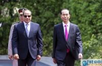 Chủ tịch nước và Phu nhân về đến Hà Nội, kết thúc chuyến thăm Ethiopia và Ai Cập