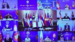 Lễ trao quy chế Đối tác đối thoại đầy đủ của ASEAN cho Vương quốc Anh