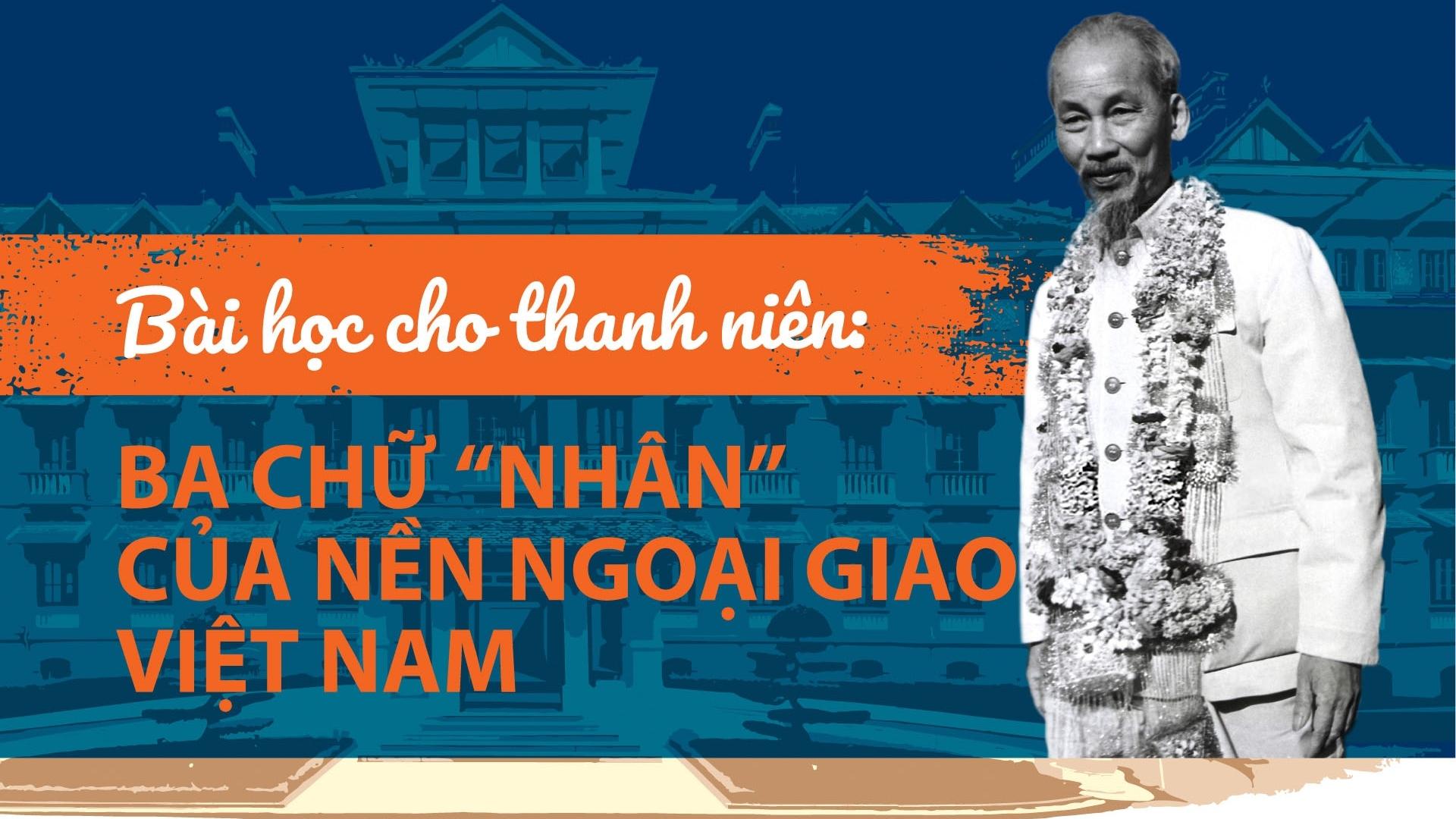 """Bài học cho thanh niên: Ba chữ """"Nhân"""" của nền ngoại giao Việt Nam"""