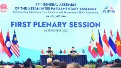 Phiên họp toàn thể Đại hội đồng AIPA 41: ASEAN và AIPA kề vai sát cánh, hỗ trợ nhau vượt khó khăn