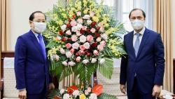 Đại sứ Campuchia tại Việt Nam chúc mừng Quốc khánh Việt Nam