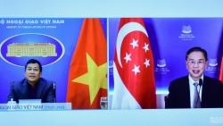 Việt Nam và Singapore trao đổi kinh nghiệm ứng phó Covid-19 và phục hồi kinh tế