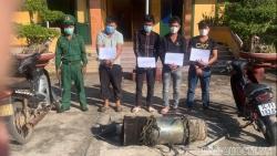 Đồn Biên phòng Hải An bắt giữ nhóm đối tượng thường xuyên trộm cắp tài sản trong mùa dịch