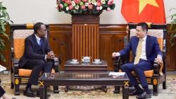 Thứ trưởng Đặng Hoàng Giang tiếp Đại diện khu vực châu Á - Thái Bình Dương của Tổ chức quốc tế Pháp ngữ