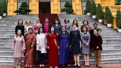 Phó Chủ tịch nước tiếp các nữ Đại sứ, Đại biện cơ quan đại diện ngoại giao nước ngoài tại Việt Nam