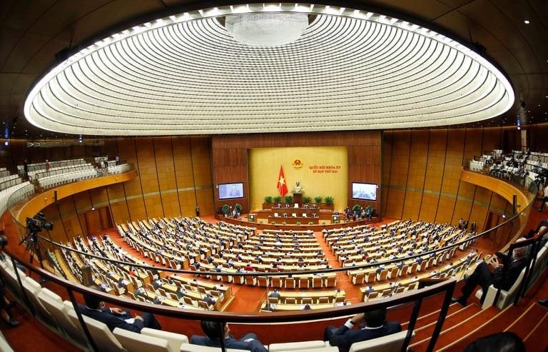 Khai mạc trọng thể kỳ họp thứ hai Quốc hội khóa XV