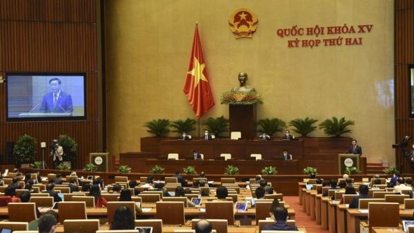 Kỳ họp thứ 2, Quốc hội khóa XV: Trình nhiều nội dung quan trọng trong ngày làm việc đầu tiên