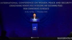 Việt Nam ưu tiên thúc đẩy bình đẳng giới và tăng cường vai trò của phụ nữ trong xây dựng hòa bình