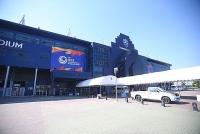 Sân Buriram, nơi có kỷ niệm đẹp với HLV Park, tất bật chuẩn bị cho trận khai mạc giải U23 châu Á