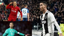 Đội hình xuất sắc nhất châu Âu năm 2020: Messi và Ronaldo góp mặt