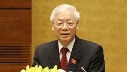 Tổng Bí thư, Chủ tịch nước Nguyễn Phú Trọng điện mừng Quốc khánh Cộng hòa Hồi giáo Iran