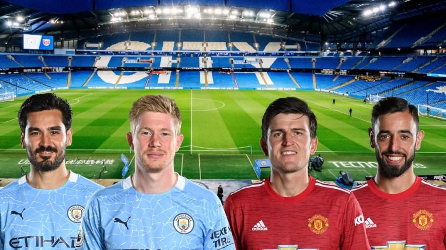 Dự đoán tỷ số, đội hình xuất phát trận Man City - Man Utd