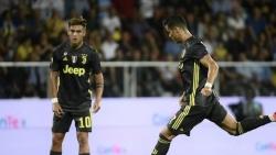 Thành tích ghi bàn ấn tượng của Ronaldo tại Juventus dù khả năng đá phạt giảm sút