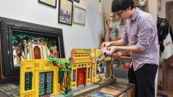 Chàng trai dùng lego ghép cảnh đẹp Việt Nam, lên cả báo nước ngoài