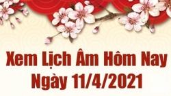 Lịch âm 11/4 - Xem âm lịch hôm nay Chủ nhật ngày 11/4/2021 chính xác nhất - Lịch vạn niên 11/4/2021