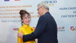CEO Vietjet Nguyễn Thị Phương Thảo nhận Huân chương Bắc đẩu bội tinh