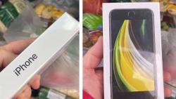 Đặt mua táo, bất ngờ nhận được một chiếc điện thoại iPhone SE