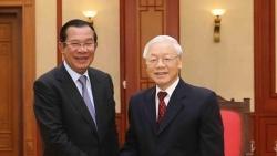 Chủ tịch Đảng Nhân dân Campuchia, Thủ tướng chính phủ Vương quốc Campuchia gửi thư cảm ơn Tổng Bí thư Nguyễn Phú Trọng