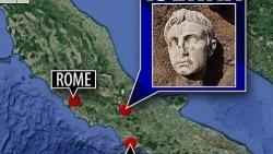 Khai quật đầu tượng bằng đá cẩm thạch 2.000 năm tuổi của Hoàng đế Augustus Octavian