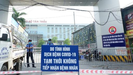 Covid-19 ở Hà Nội: Thêm 2 ca mắc mới liên quan Bệnh viện K Tân Triều