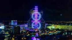 Khám phá khách sạn hình chiếc đàn guitar, nơi tổ chức Hoa hậu Hoàn vũ