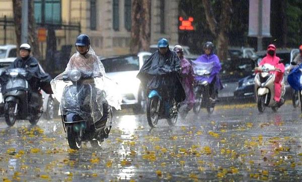 Dự báo thời tiết đêm nay và ngày mai (12-13/6): Bắc Bộ đến Nghệ An tiếp tục có mưa vừa, mưa to, khả năng xảy ra lũ quét, sạt lở đất