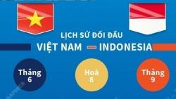 Thông tin trước, đội hình dự kiến đội tuyển Việt Nam - Indonesia tại vòng loại World Cup 2022