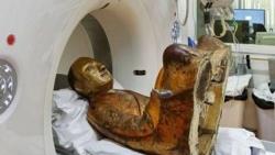 Phát hiện việc tự ướp xác khi chụp cắt lớp pho tượng Phật cổ 1.000 năm tuổi