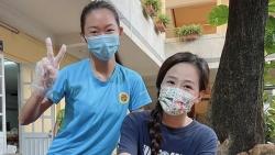Hoa hậu Mai Phương Thúy tham gia đội tình nguyện phòng chống Covid-19 tại TP. Hồ Chí Minh
