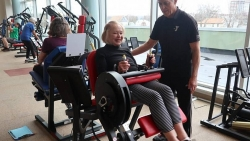Mỹ: Cụ bà tuyên bố ngừng tập gym ở tuổi 104