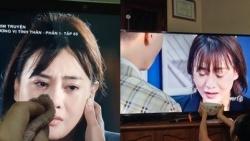 Phương Oanh kể, người nhà diễn viên xem 'Hương vị tình thân' rất thương nhân vật Nam